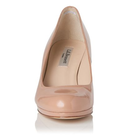 L.K. Bennett Sybila platform court shoes