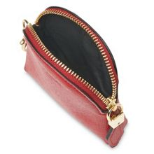 L.K. Bennett Raven small zip coin purses