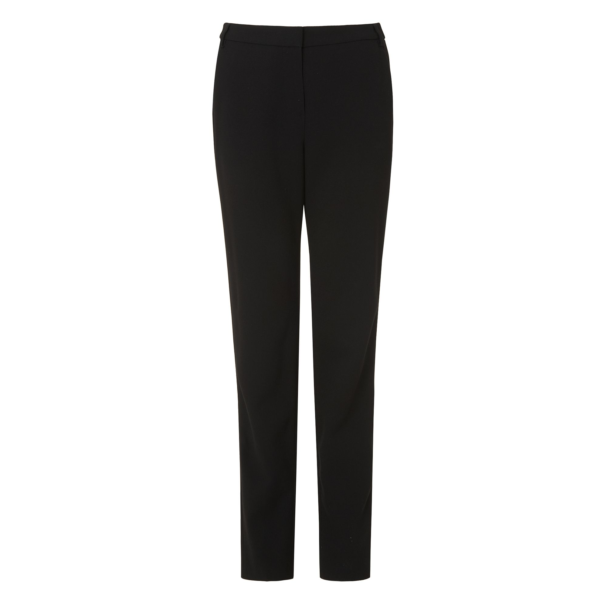 L.K. Bennett Evie Polyester Mix Trousers, Black
