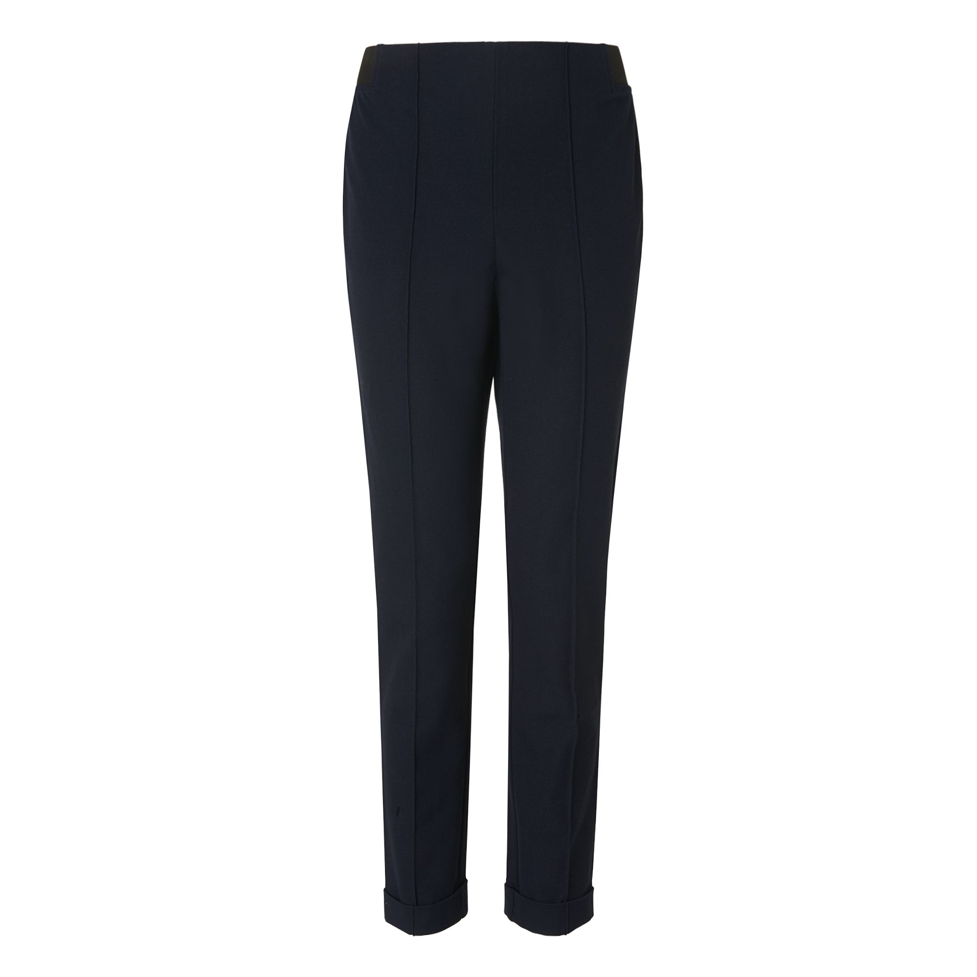 L.K. Bennett Jetta Turn Up Trousers, Blue