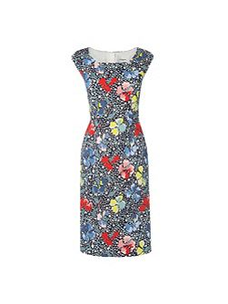 Phi Printed Dress Dresses