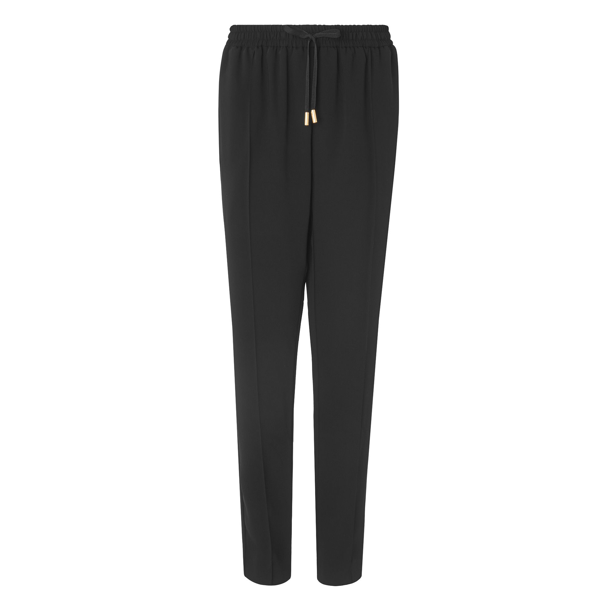 L.K. Bennett Hilly Drawstring Trousers, Black