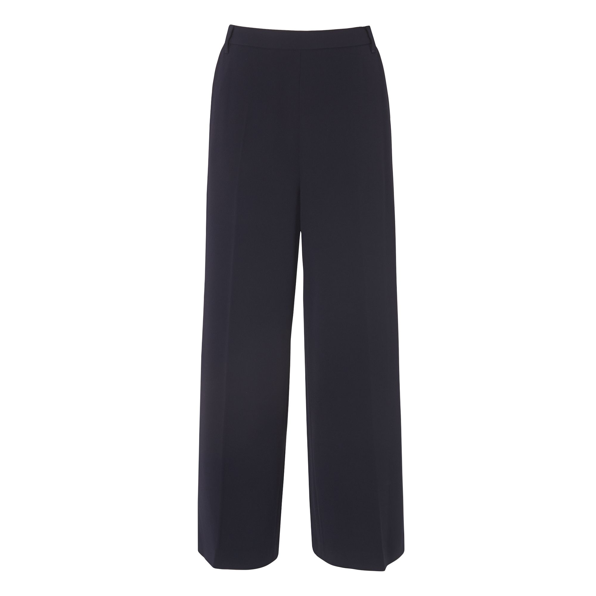 L.K. Bennett Greta Stright Leg Trousers, Blue