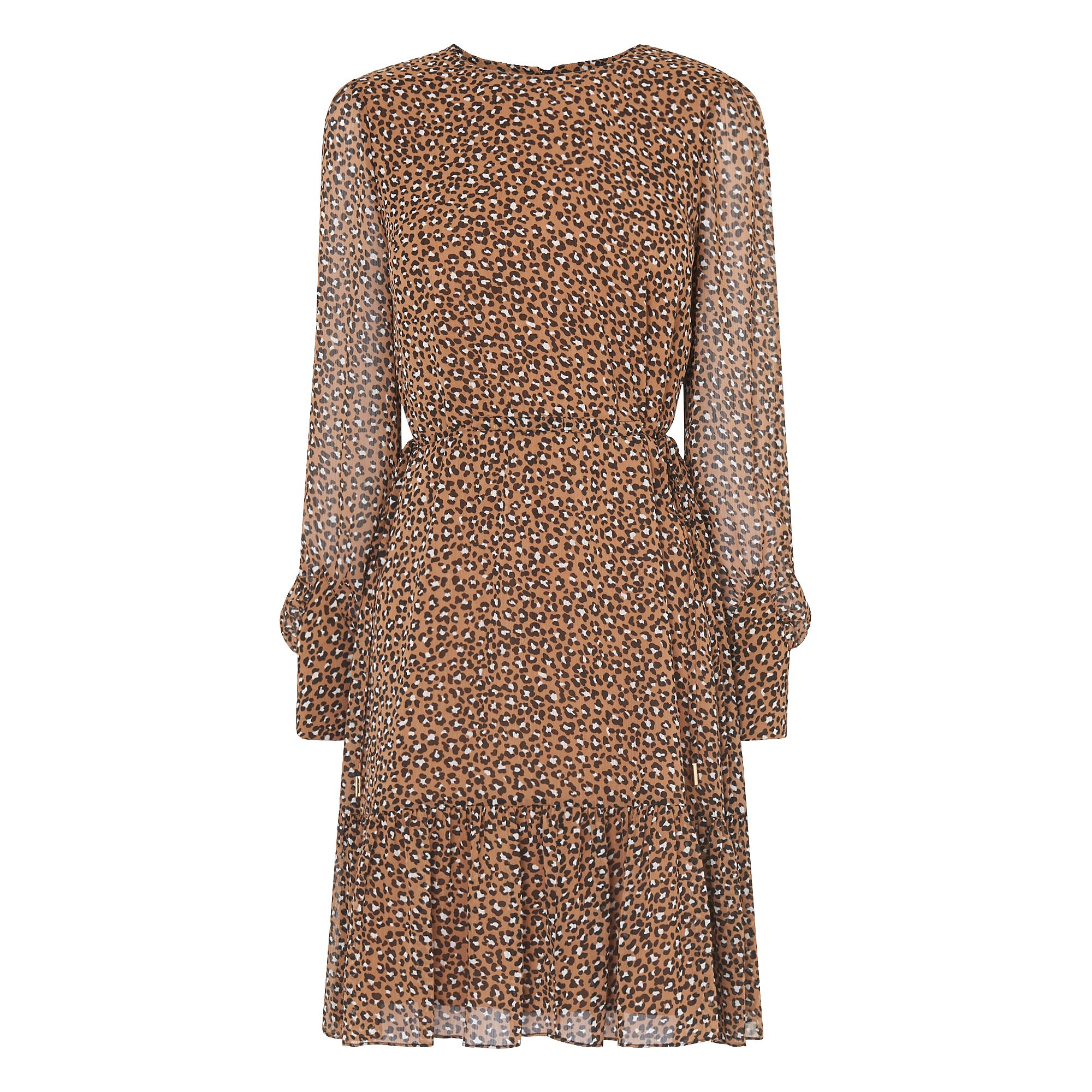 L.K. Bennett Dakota Animal Print Dress, Multi-Coloured