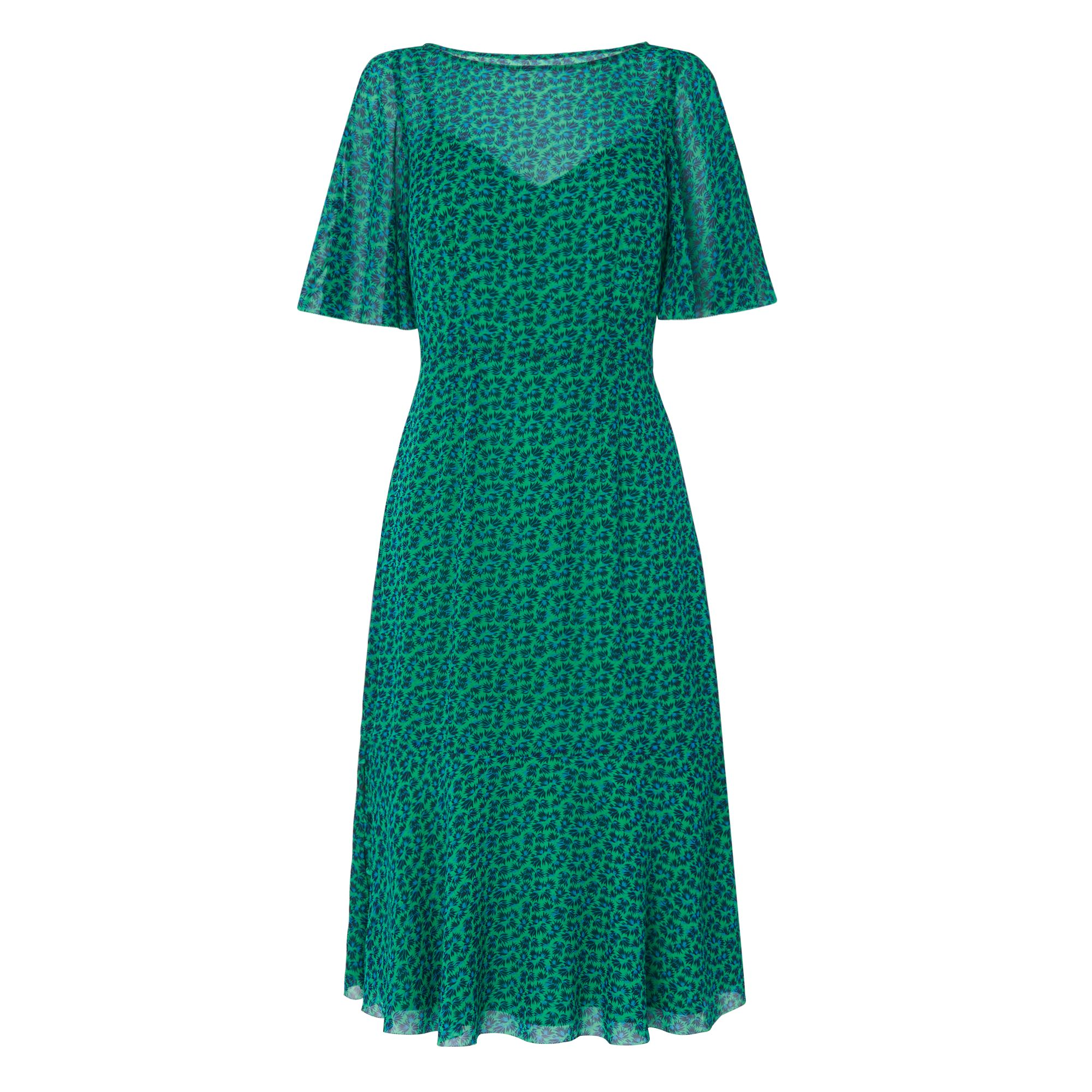 L.K. Bennett Rudy Silk Dress, Green