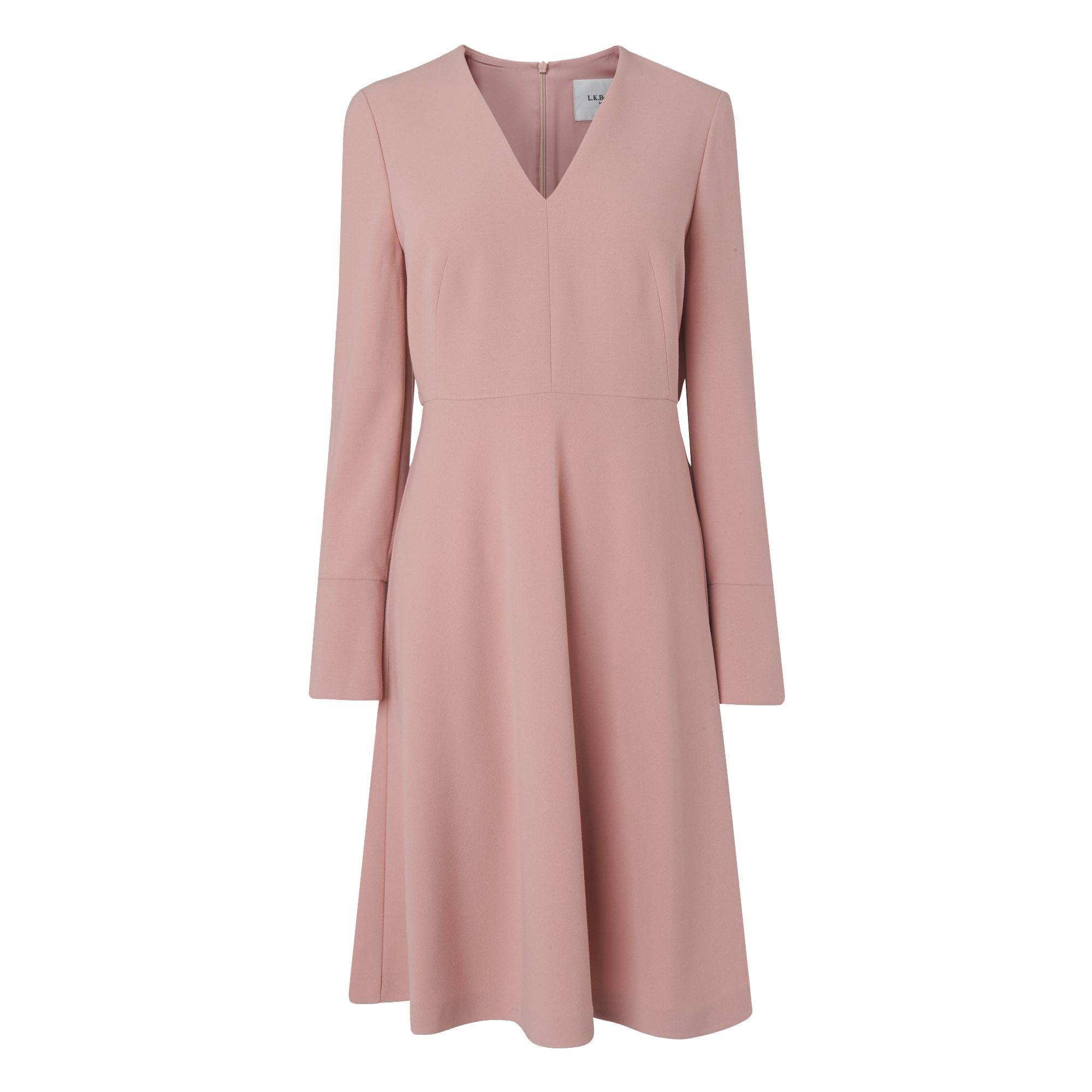 L.K. Bennett Amana Core Dress, Rose
