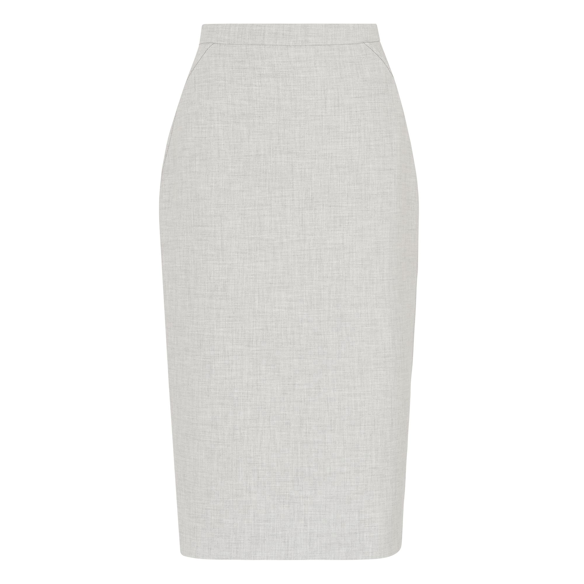 L.K. Bennett Lize Grey Melange Skirt, Grey