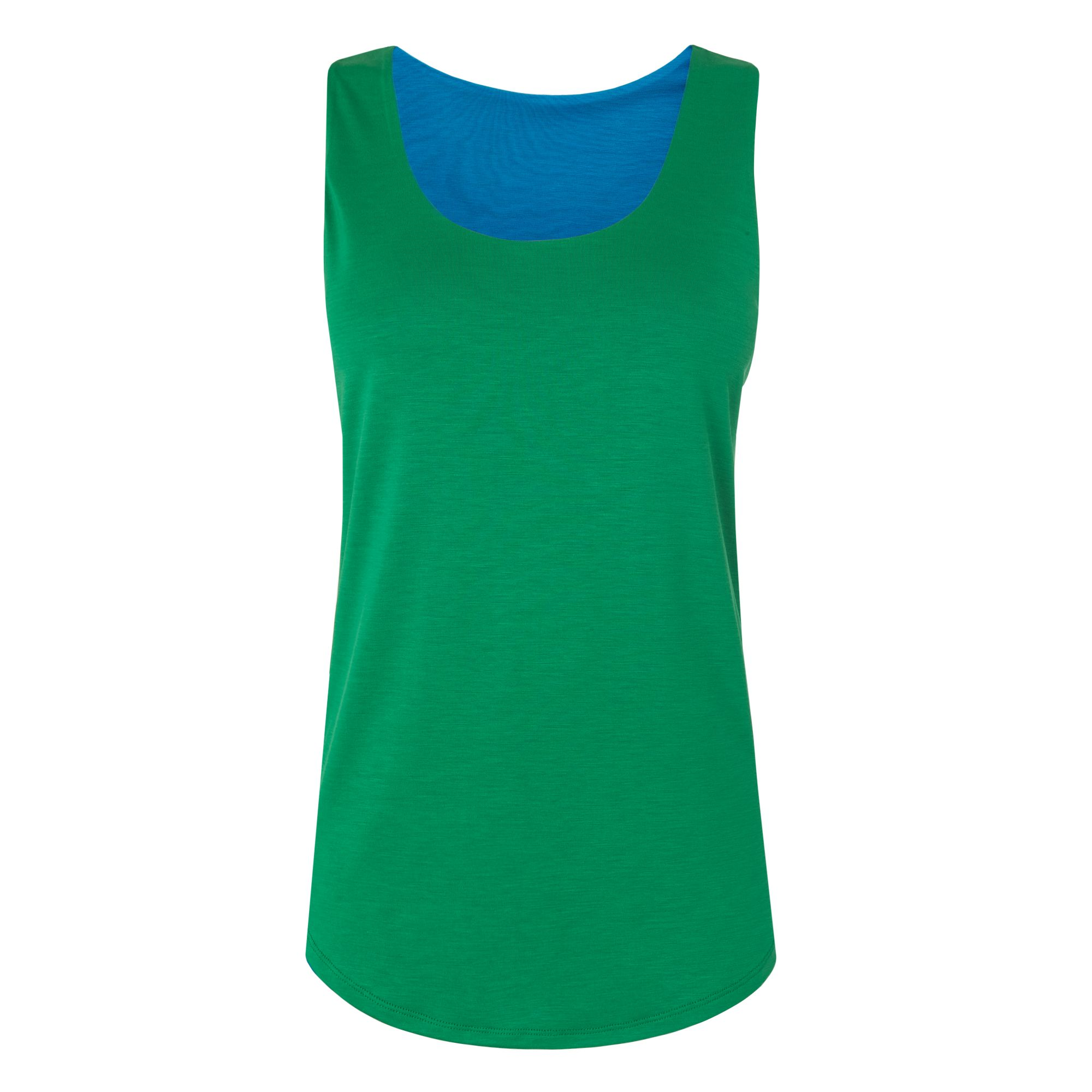L.K. Bennett Teal Reversible Vest, Green