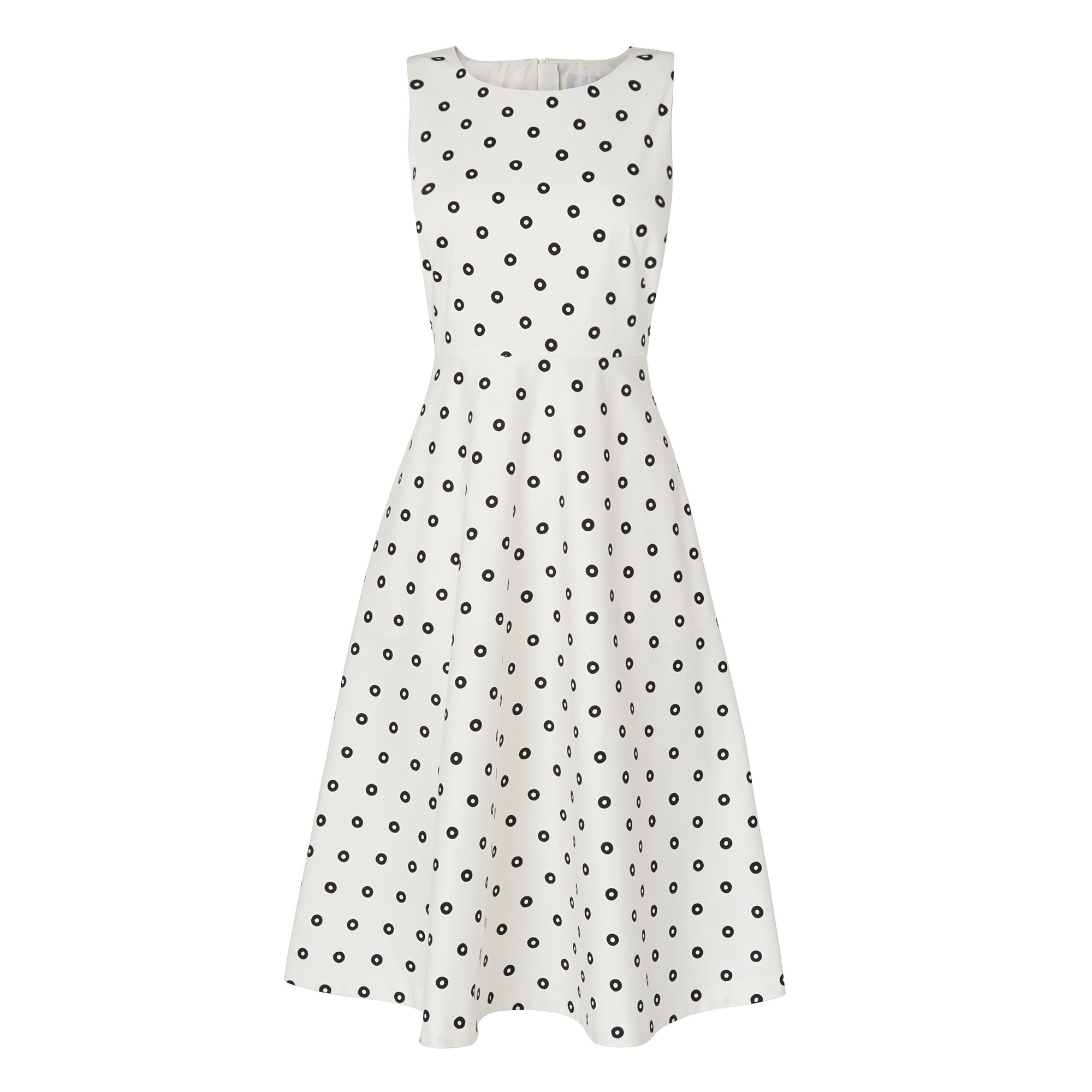 L.K. Bennett Octavia Printed Dress, White