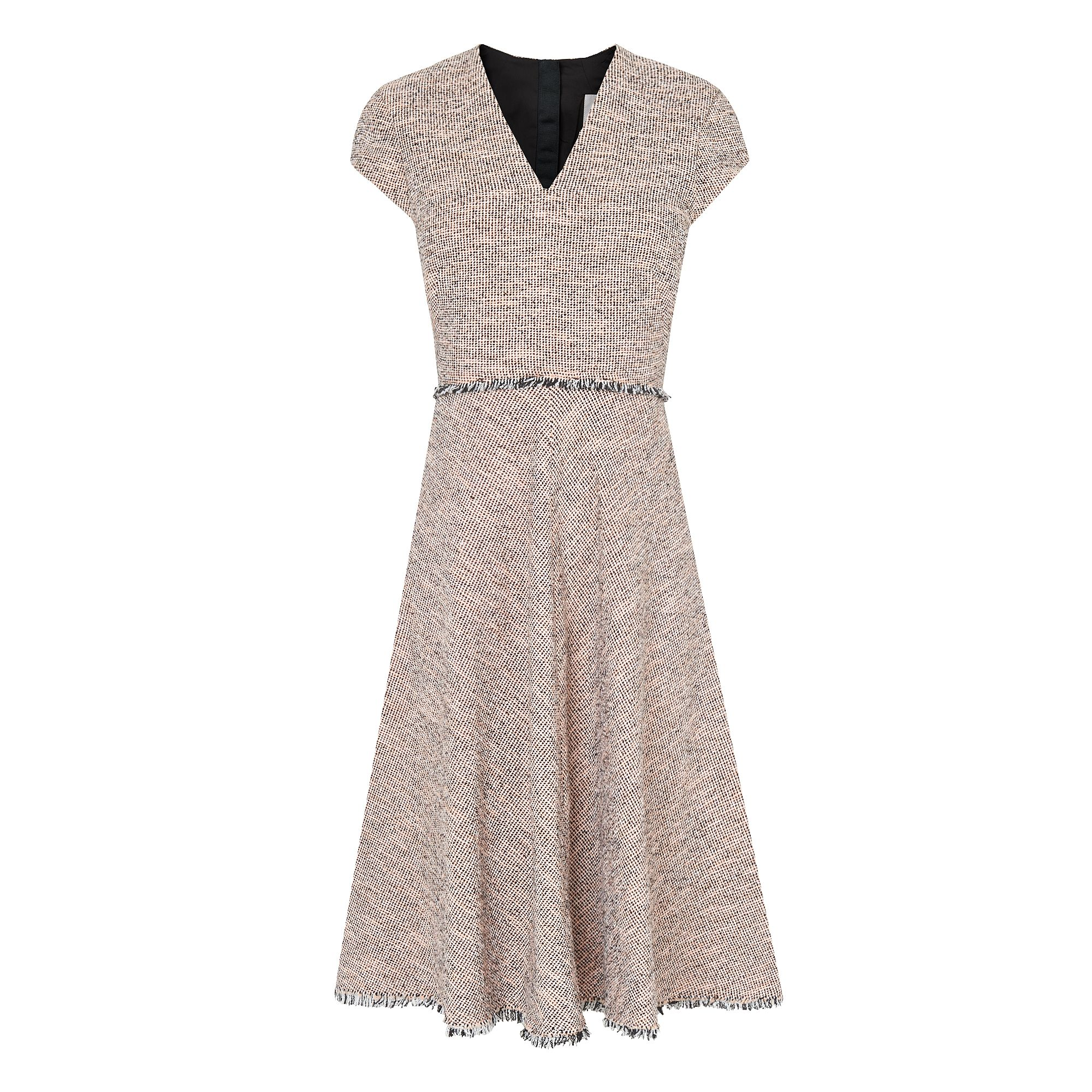 L.K. Bennett Shippa Pink Tweed Dress, Pink
