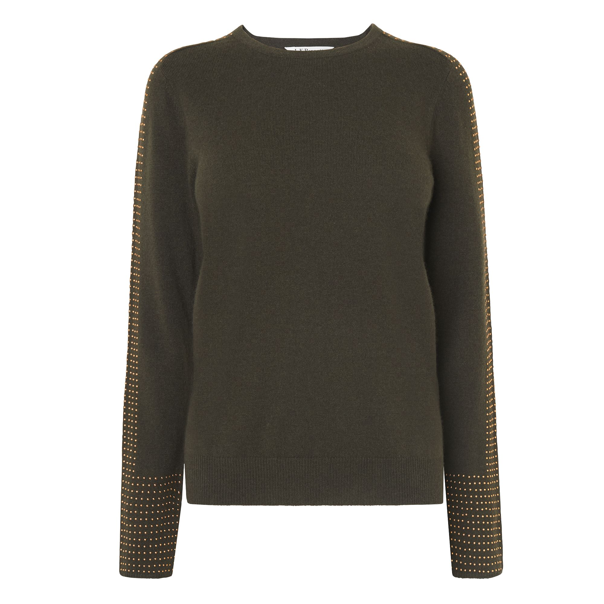 L.K.Bennett Adel Knitted Tops, Green