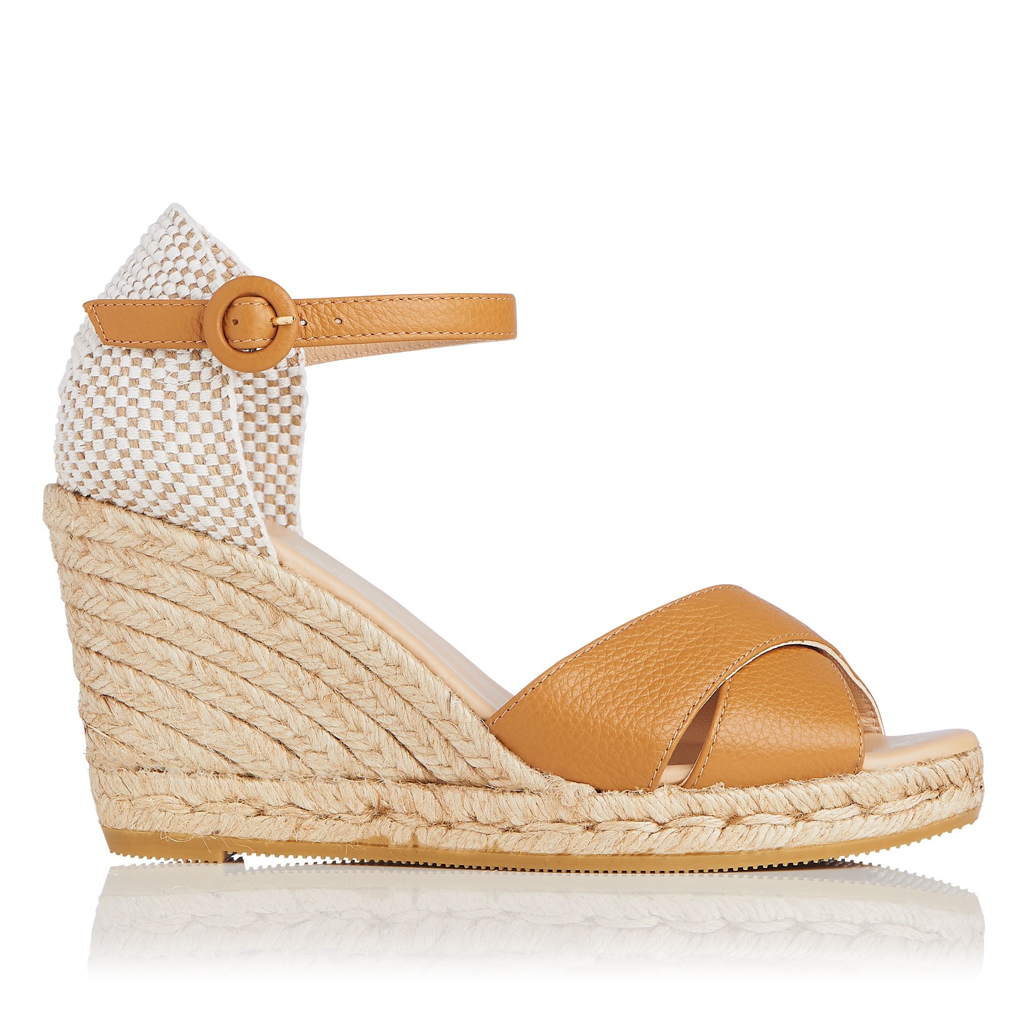 L.K.Bennett Angele Casual Sandals, Tan