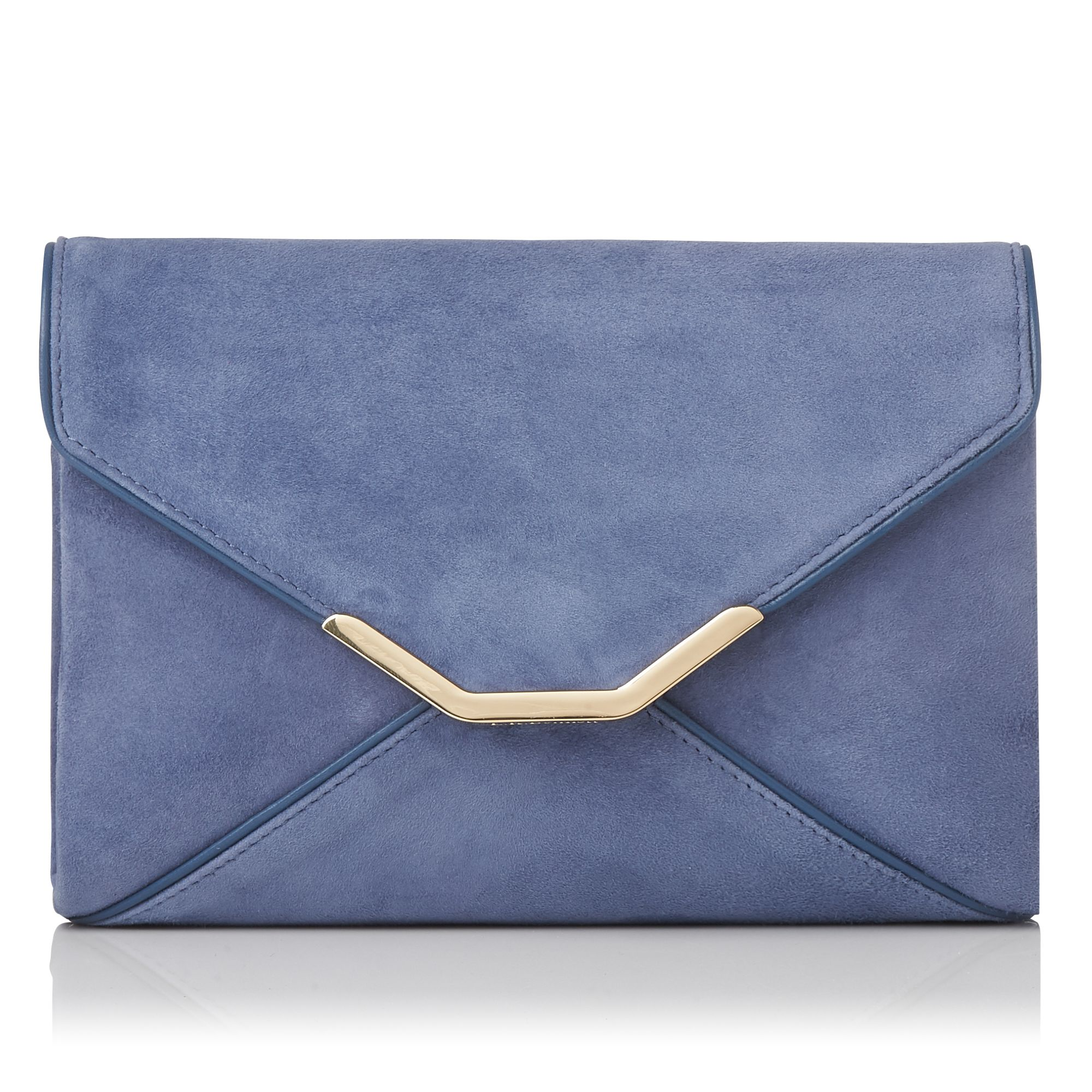 L.K.Bennett Alena Clutch, Powder Blue