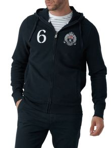 Henri Lloyd Oldfield hooded full zip sweat