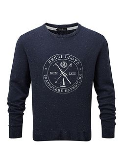 Mains regular crew neck knit