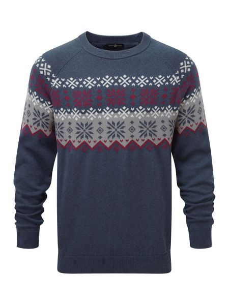 Henri Lloyd Mardy regular crew knit