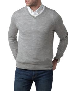 Henri Lloyd Kinton fitted v neck knit