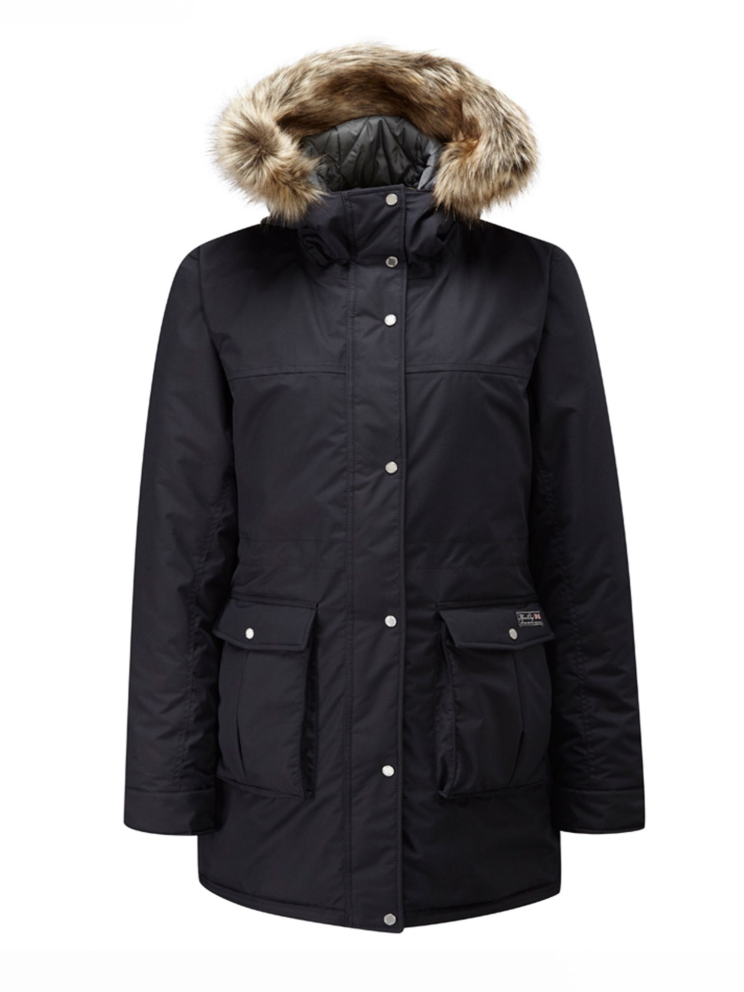 Henri Lloyd Saige Heavy Down Parka, Black