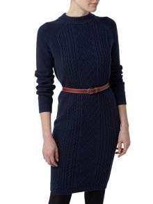 Henri Lloyd Winnie Cable Knit Dress