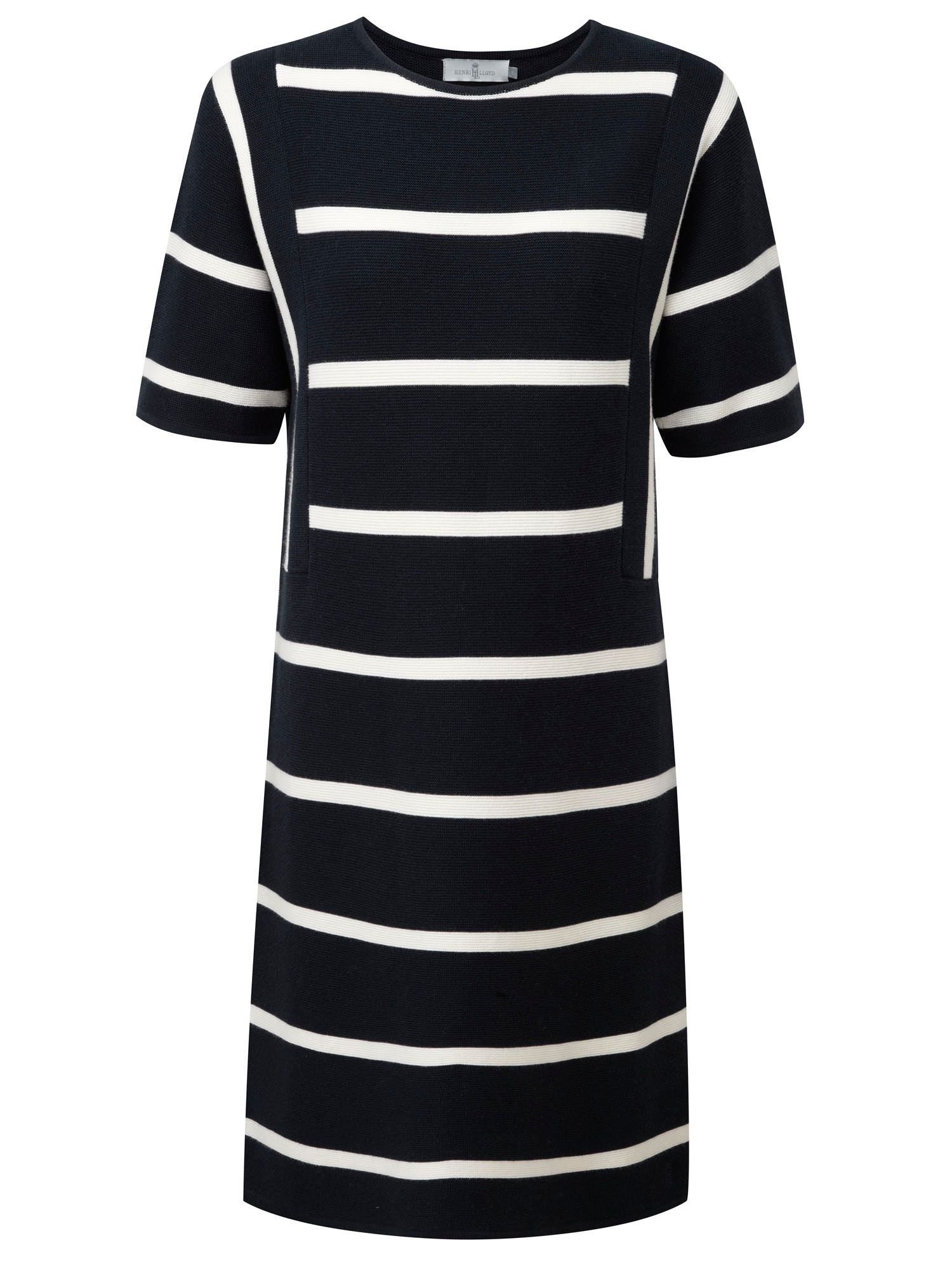 Henri Lloyd Liv Striped Knit Dress, Blue