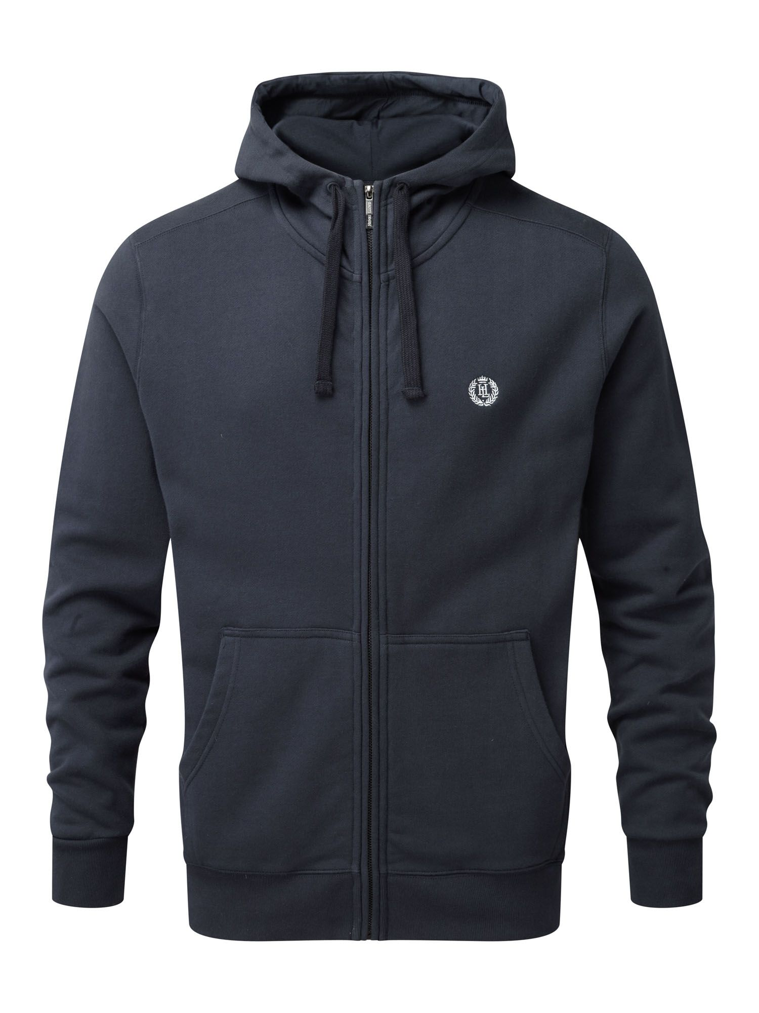 Henri Lloyd Men's Henri Lloyd Bredgar Hooded Full Zip Sweat, Navy