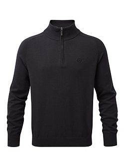 Moray Regular Half Zip Knit Jumper