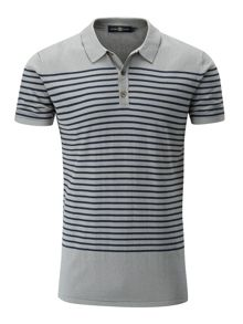 Henri Lloyd Sterling stripe knitted polo