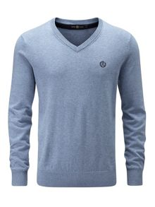 Henri Lloyd Moray Regular V Neck Knit Jumper