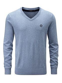 Moray Regular V Neck Knit Jumper
