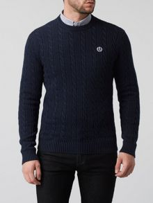 Henri Lloyd Kramer Regular Crew Neck Knit Jumper
