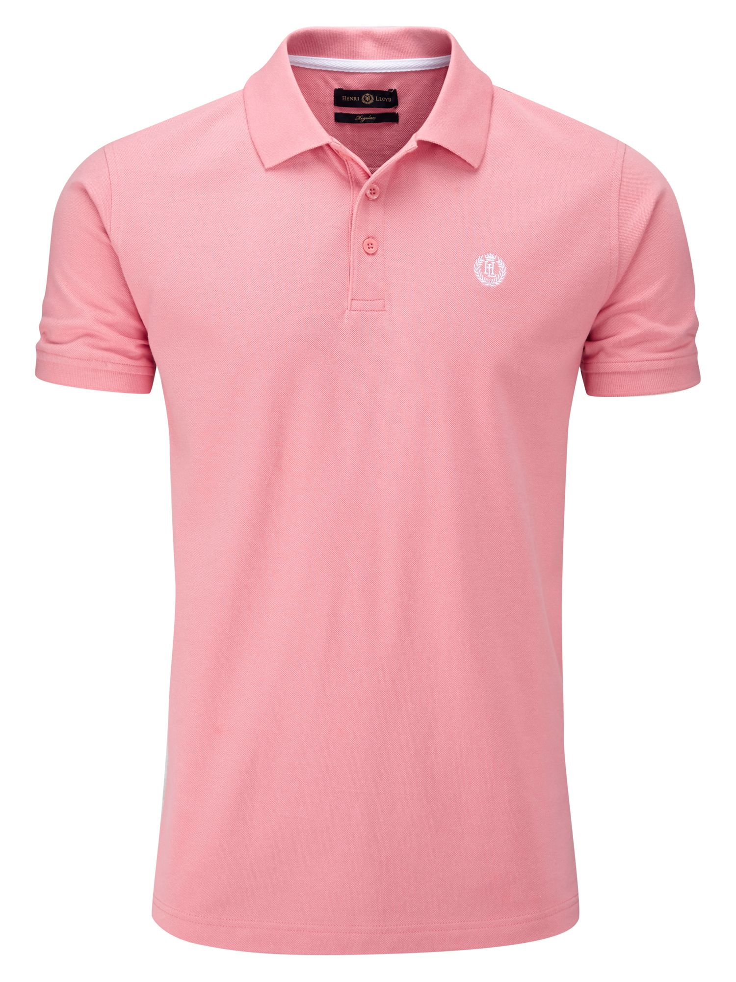 Men's Henri Lloyd Cowes Regular Polo, Salmon