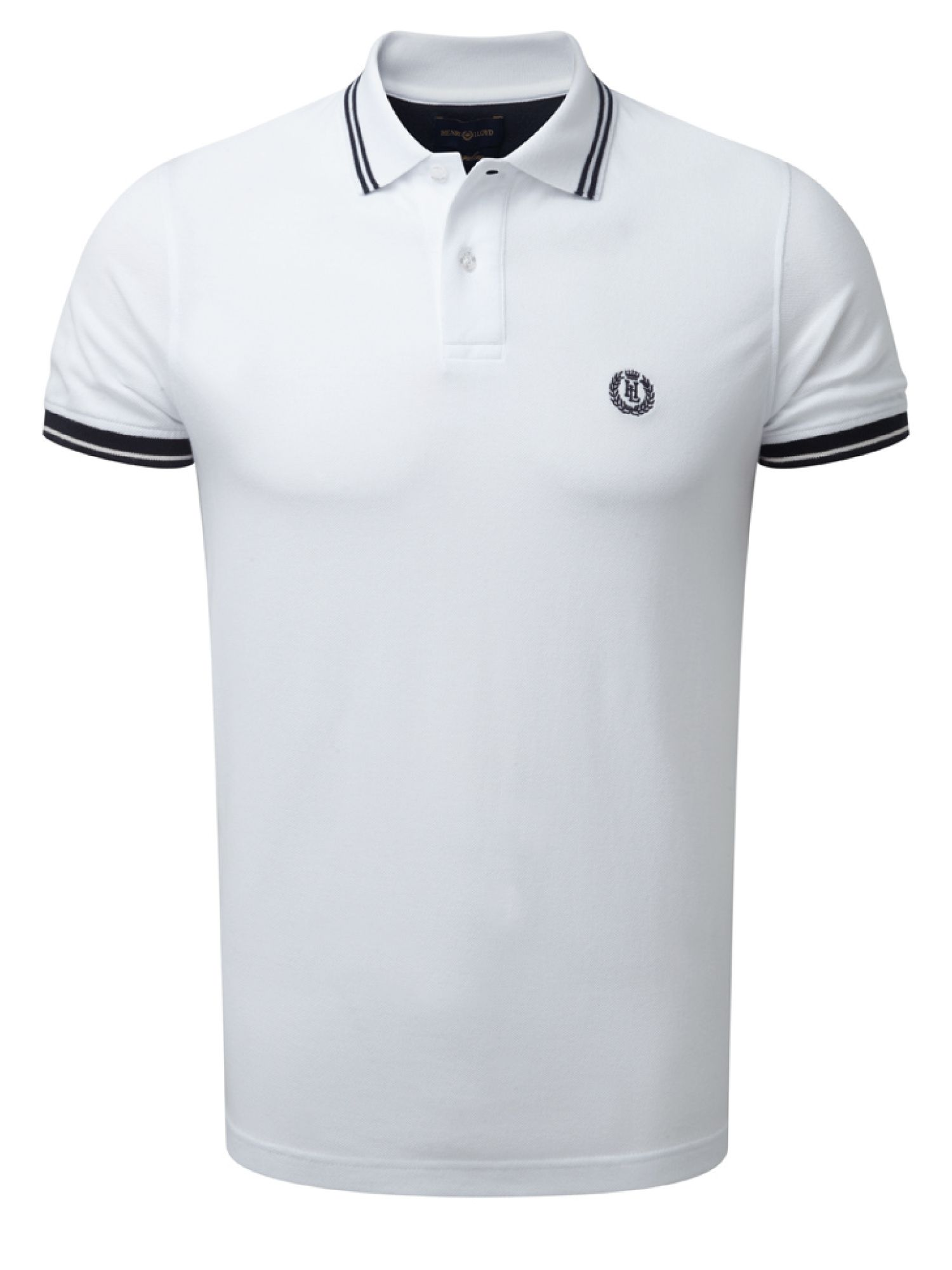 Men's Henri Lloyd Byron Regular Polo, White