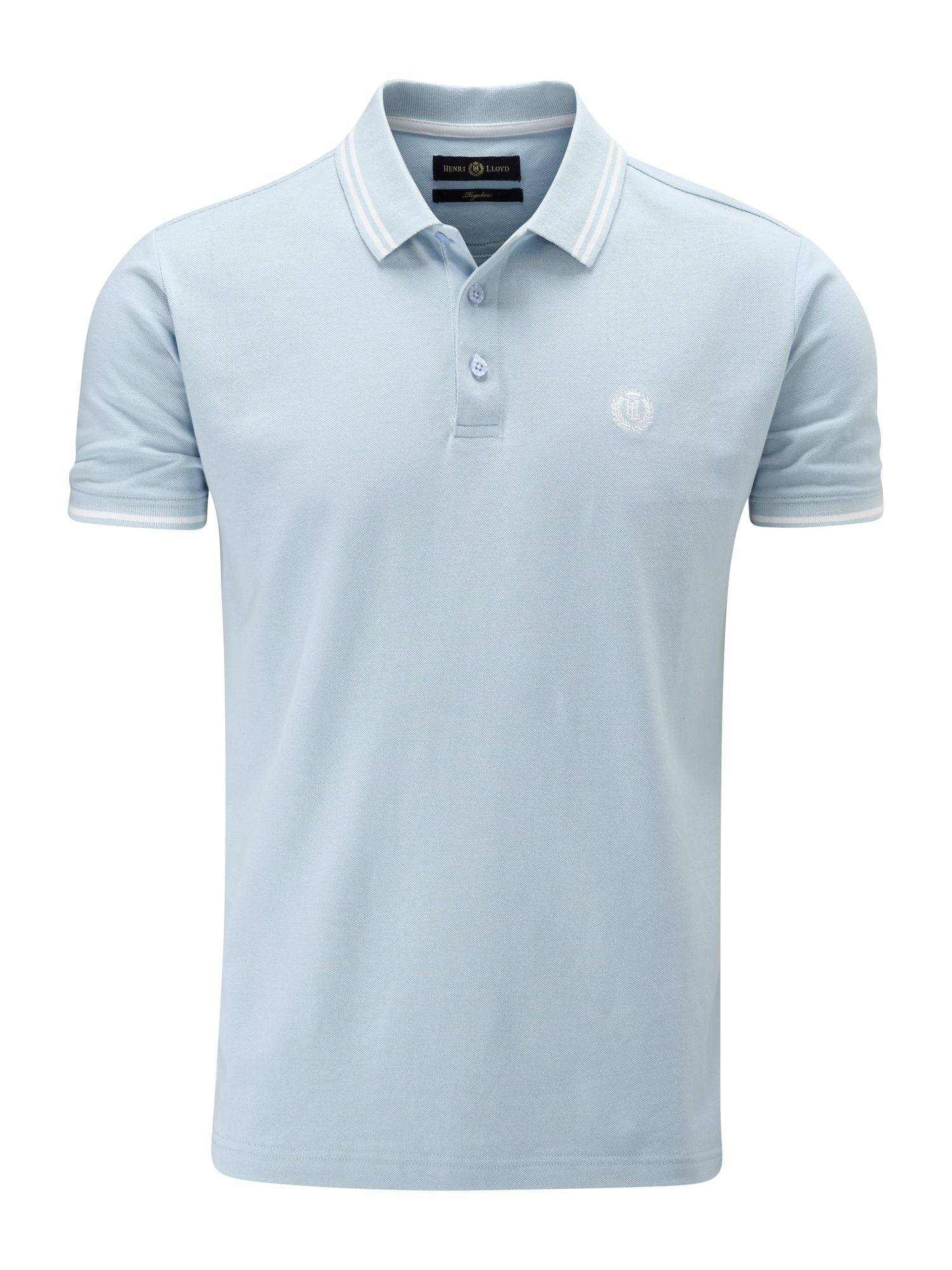Men's Henri Lloyd Byron Regular Polo, Sky