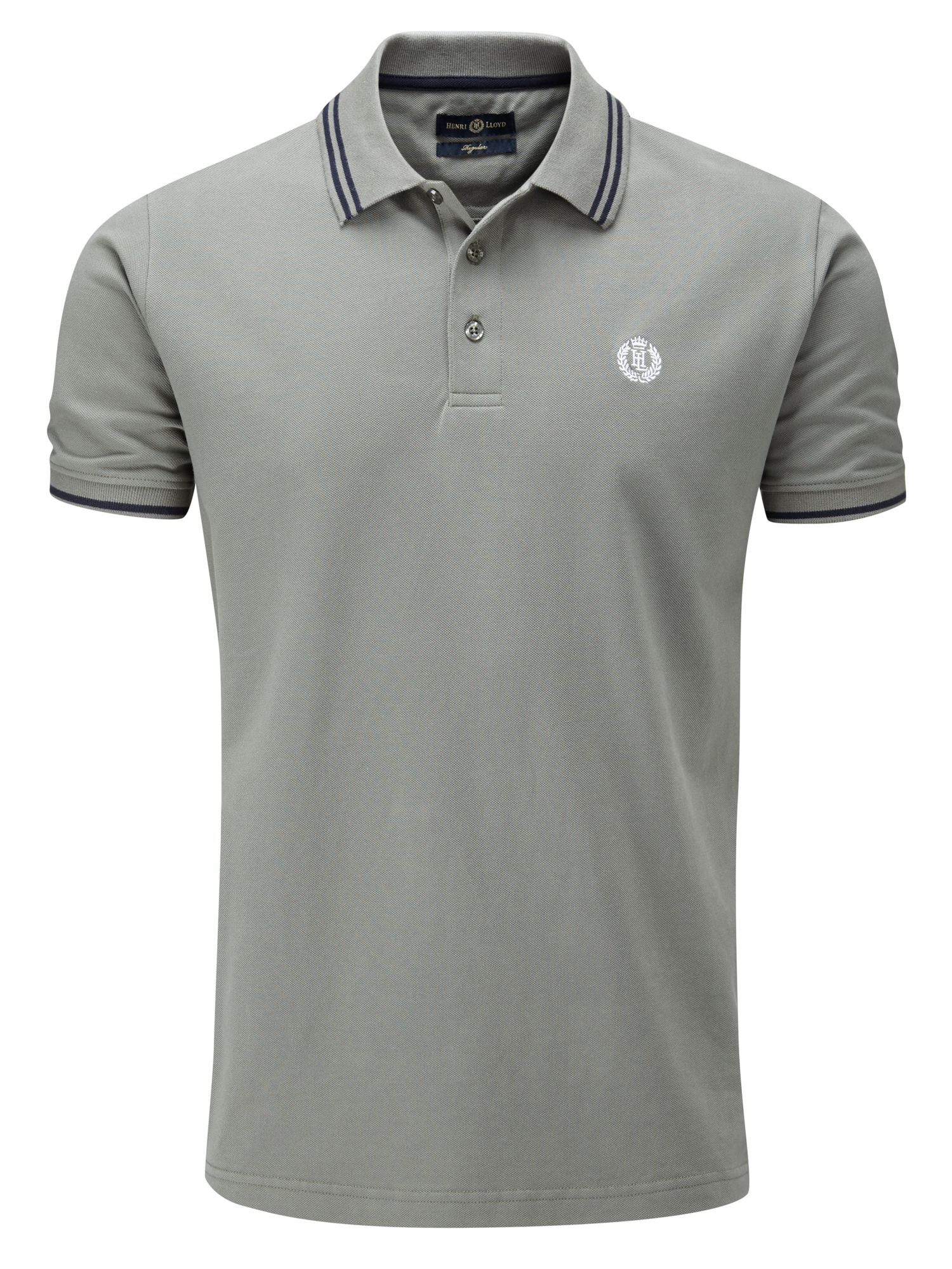 Men's Henri Lloyd Byron Regular Polo, Dark Grey