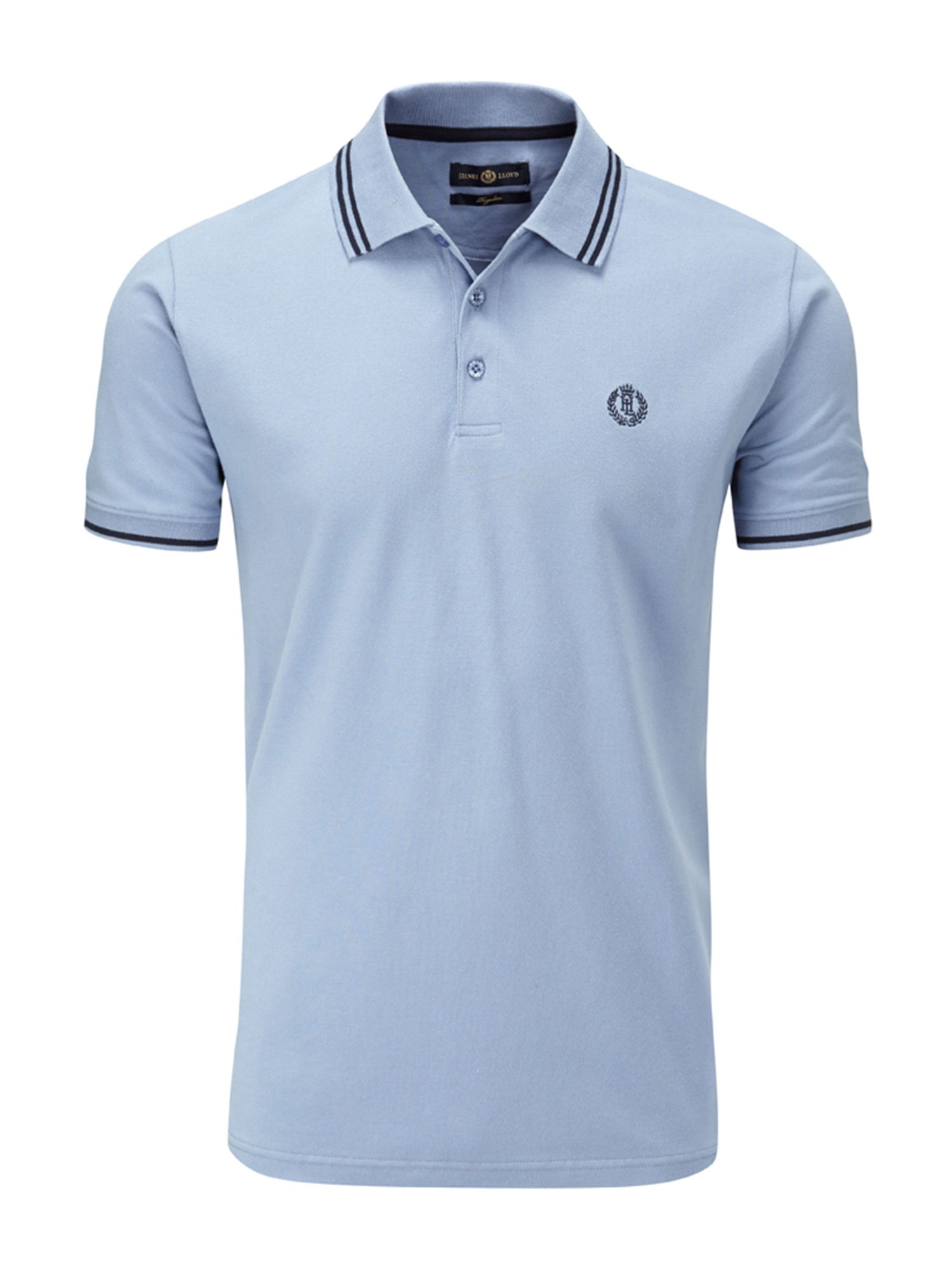 Men's Henri Lloyd Byron Regular Polo, Light Blue