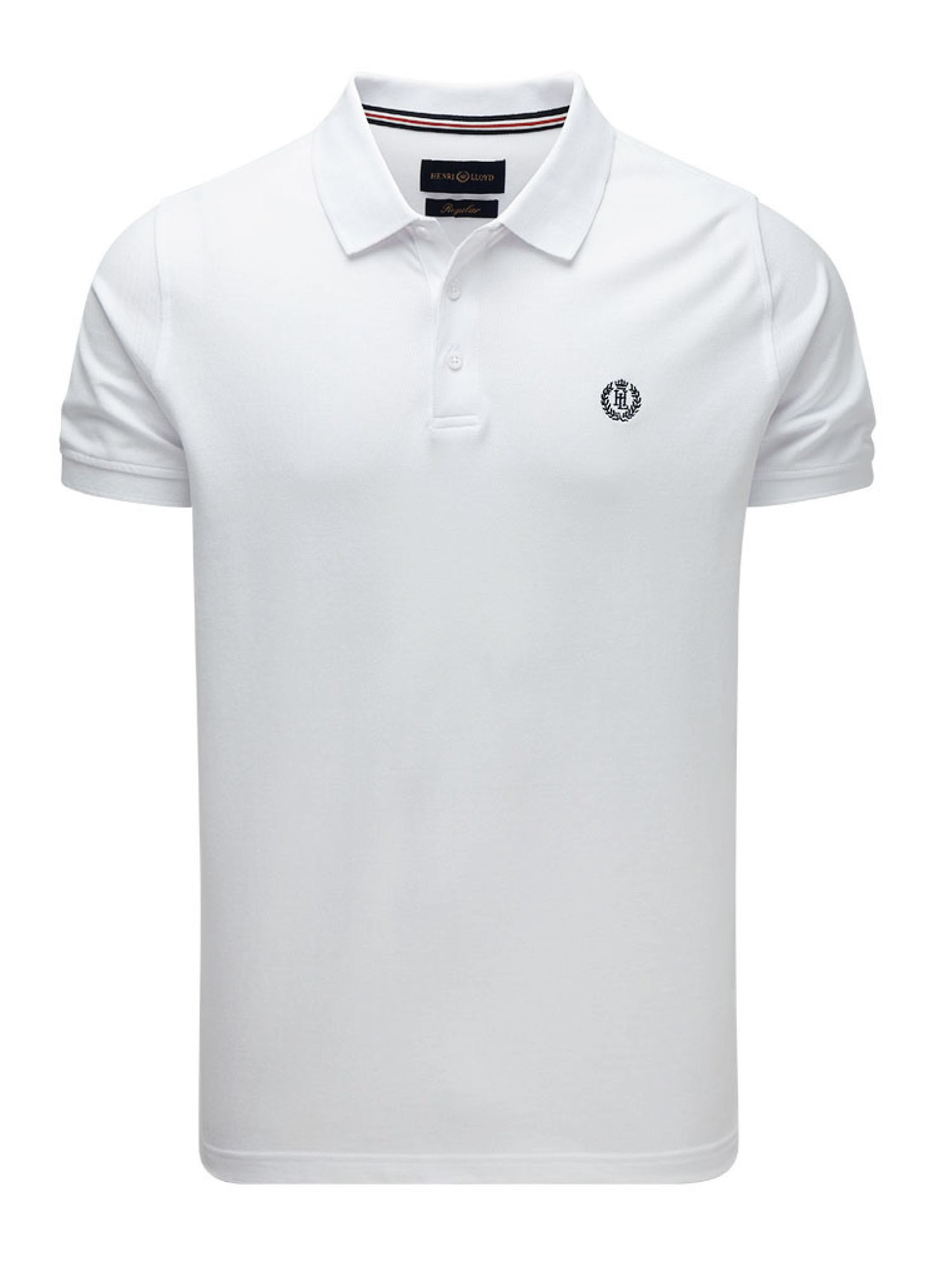 Men's Henri Lloyd Cowes Regular Polo, White
