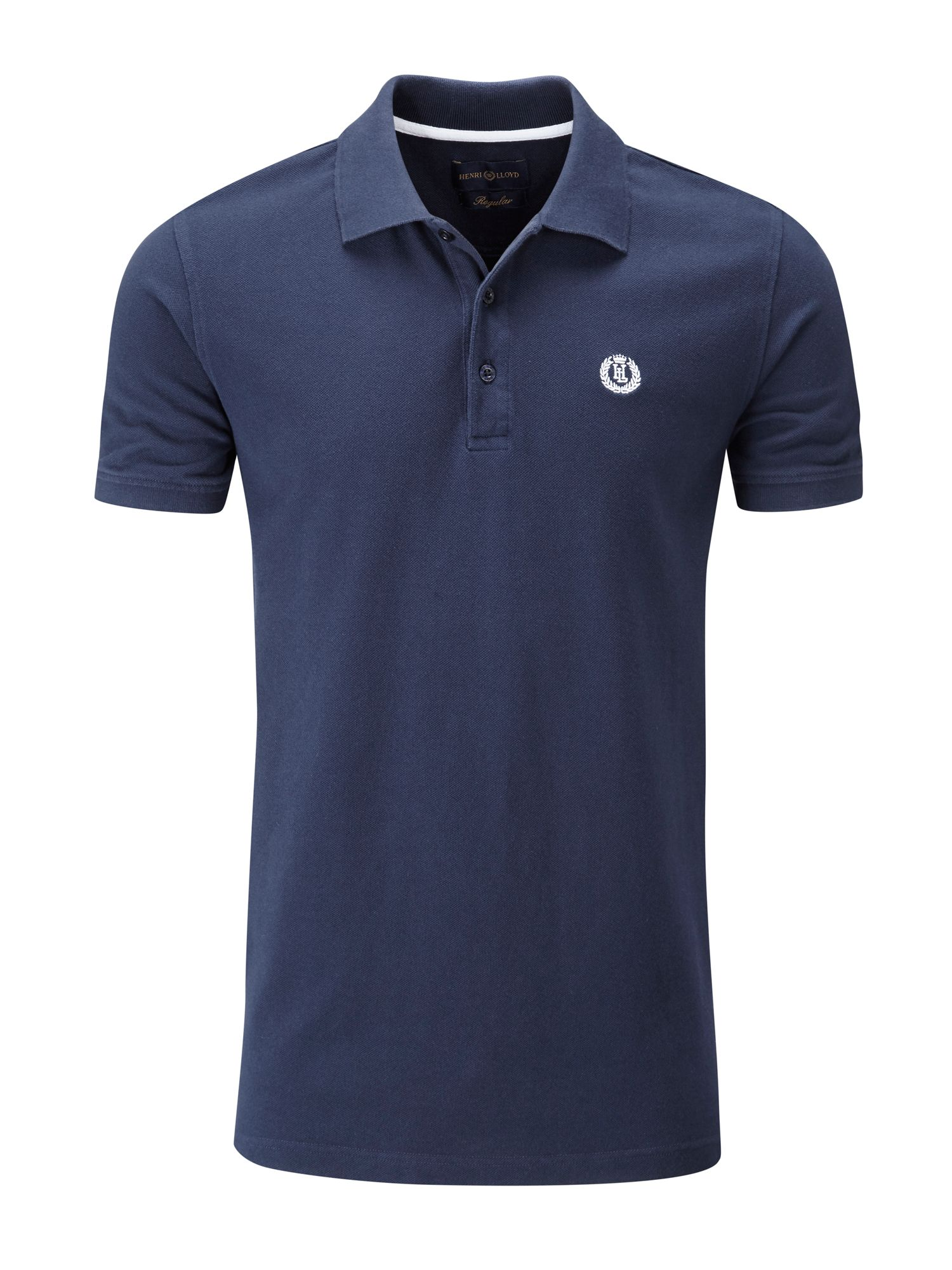 Men's Henri Lloyd Cowes Regular Polo, French Blue