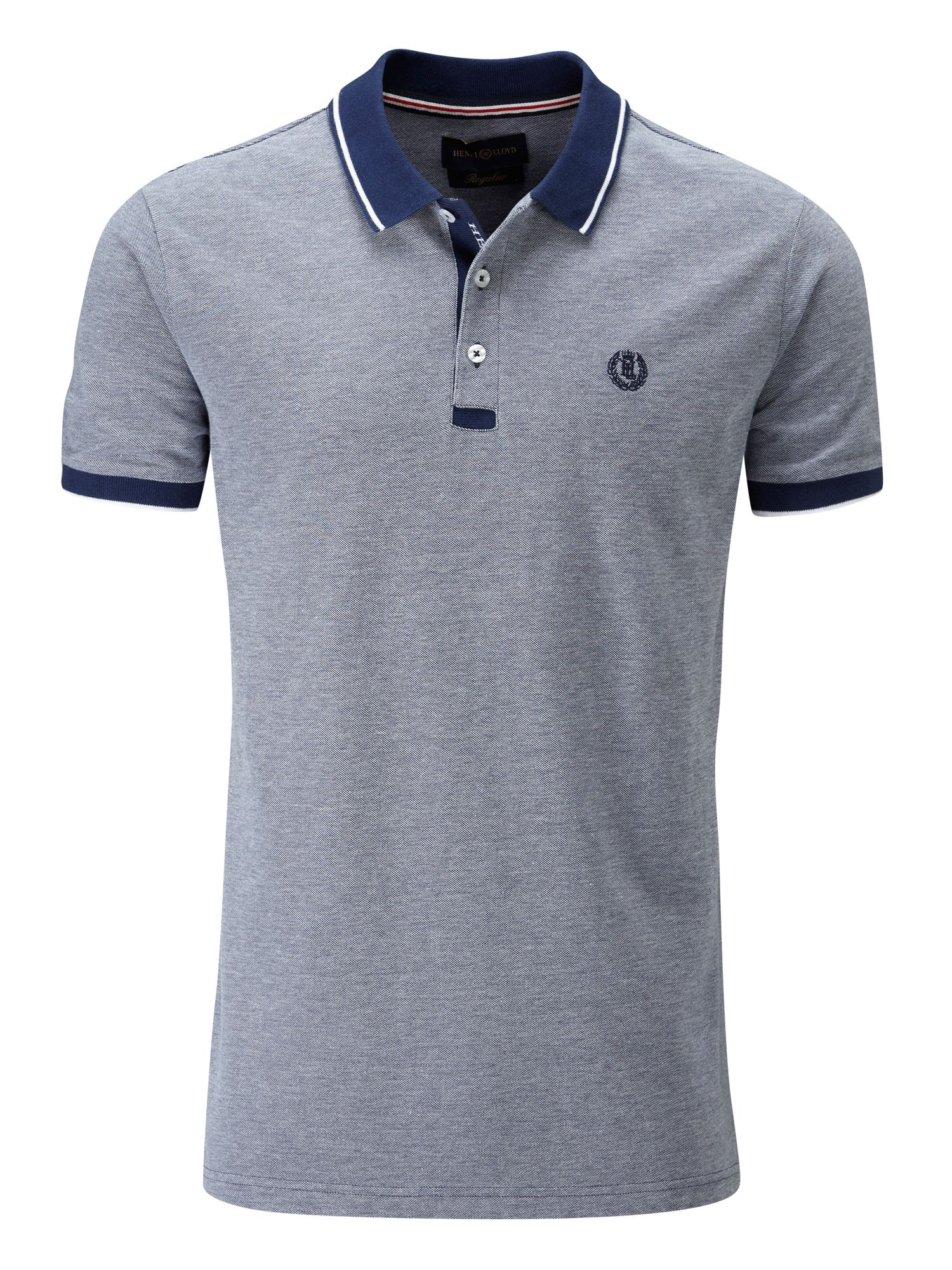 Men's Henri Lloyd Kemsing Regular Polo, Mid Blue