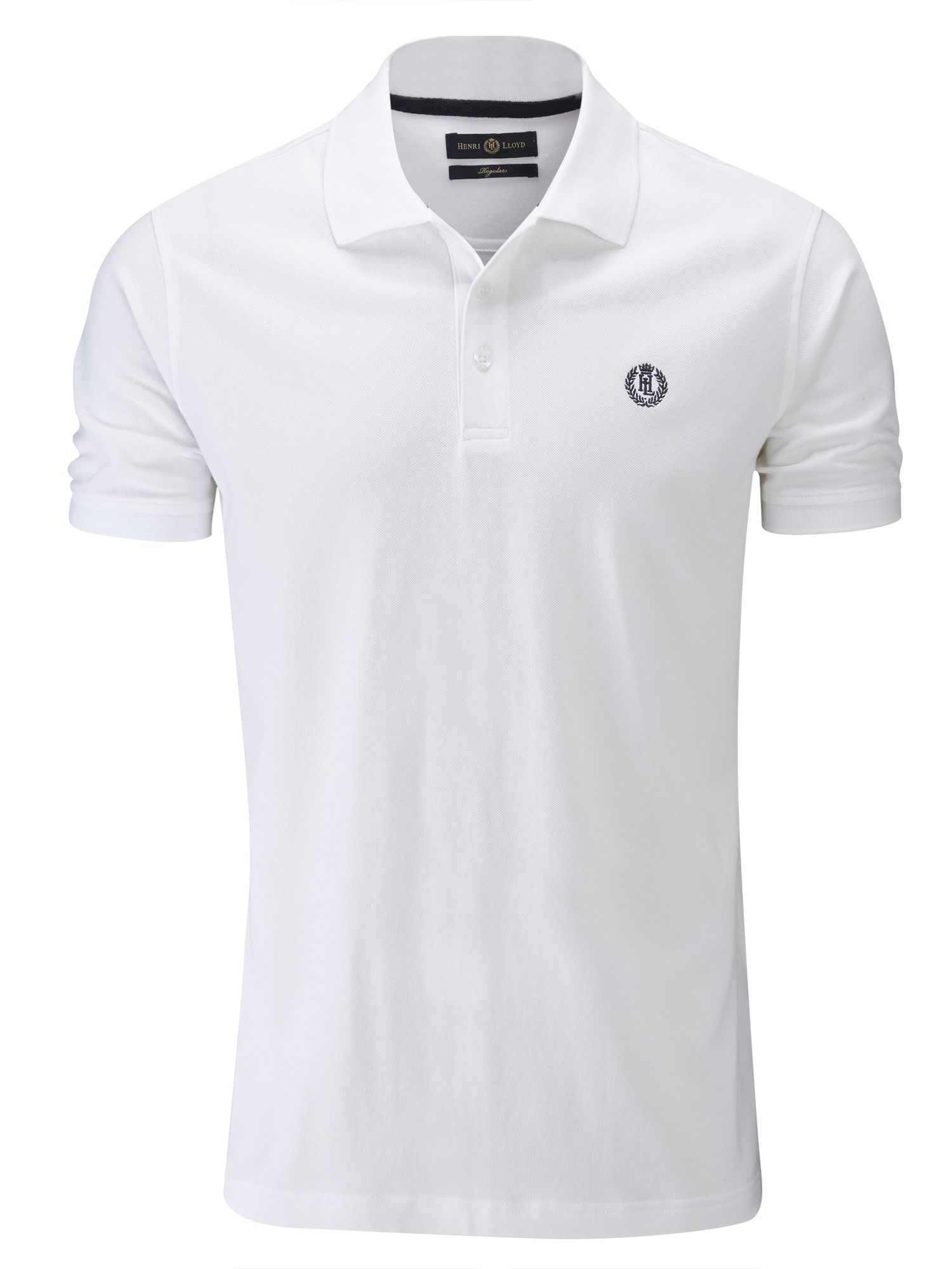Men's Henri Lloyd Cowes Regular Polo Shirt, White