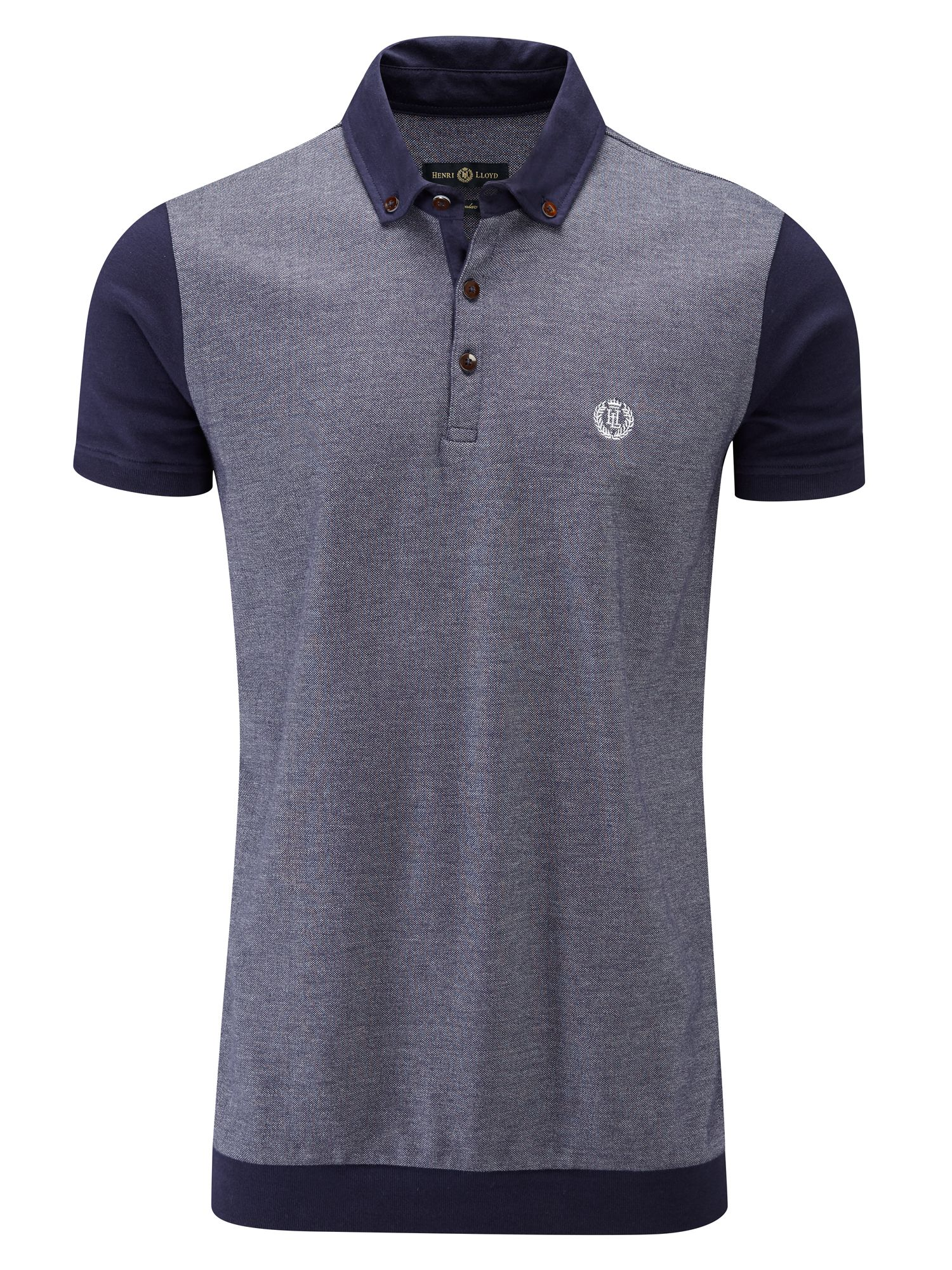 Men's Henri Lloyd Pendle Regular Polo, Eclipse