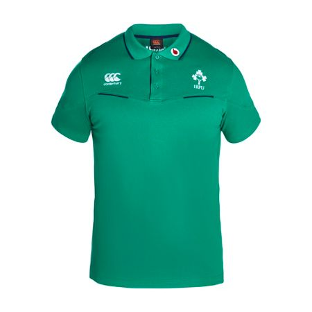 Canterbury Ireland Cotton Training Polo