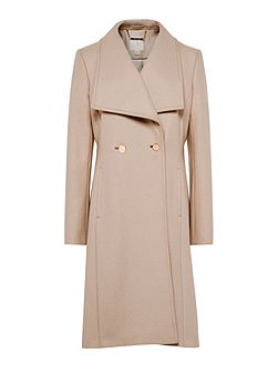 Maali Wool Wrap Coat