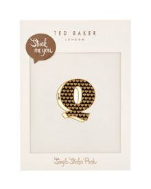 Ted Baker Alphaq Stuck on You letter Q sticker