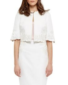 Ted Baker Carleta Embroidered jacket