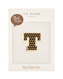 Ted Baker Alphat Stuck on You letter T sticker