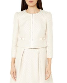 Ted Baker Diila bouclé cropped jacket