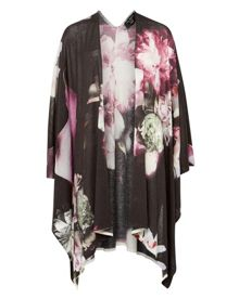 Ted Baker Yanati Ethereal Posie knitted wrap