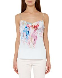 Ted Baker Hanging Gardens Printed Cami