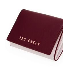 Ted Baker Karrie Small leather colour block purse