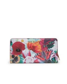 Ted Baker Agnetta Floral Swirl leather purse